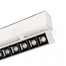 Светильник MAG-LASER-FOLD-45-S160-6W Warm3000 (WH, 15 deg, 24V)