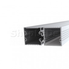 Профиль с экраном ALU-BASE-PW35S-2000 ANOD+FROST AG