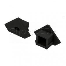 Заглушка для PDS45-T черная с отверстием