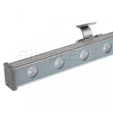 Светодиодный прожектор AR-LINE-1000S-18W-24V RGB (Grey, 30 deg, DMX512)