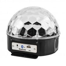 """Светодиодная система """"Диско-шар"""" с пультом ДУ и Bluetooth, 220В"""