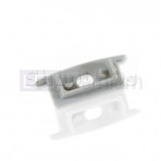 Заглушка с отверстием для профиля SLA-20