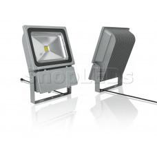 Светодиодный прожектор 100W, IP65, 220V, теплый белый