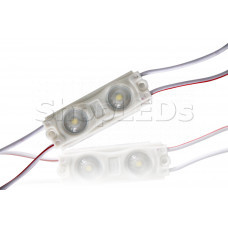 Светодиодный модуль герметичный SL-2835-2 LED (100-110Lm, 1W, 12V)